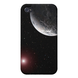 An icy/rocky planet orbiting a dim star iPhone 4 covers