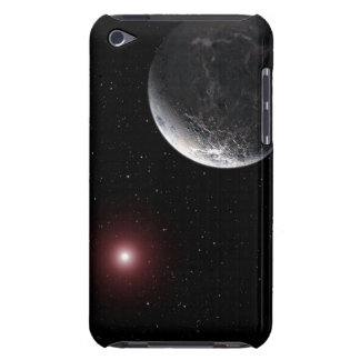 An icy/rocky planet orbiting a dim star iPod Case-Mate case