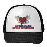 An Idahoan Stole my Heart Mesh Hat