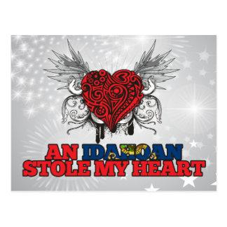 An Idahoan Stole my Heart Postcard