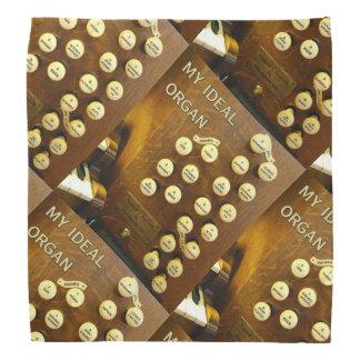 An ideal pipe organ bandana