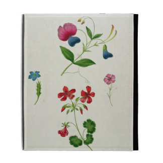 An illustration from 'A New Treatise on Flower Pai iPad Case