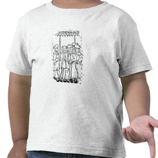 An illustration of a Jewish wedding Tshirt