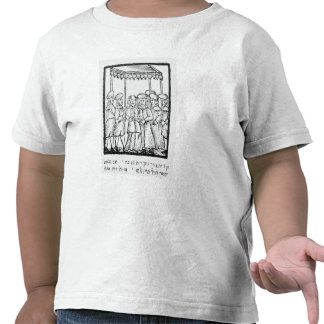An illustration of a Jewish wedding Tshirts