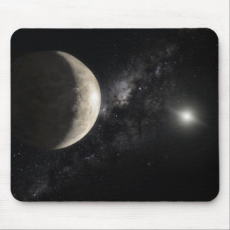 An illustration of Makemake Mouse Pad