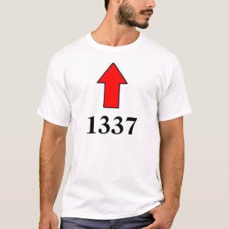 "An ""I'm with 1337"" shirt"
