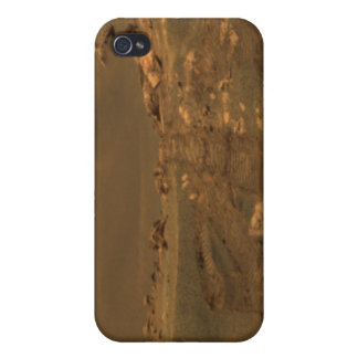 An impact crater in the Meridian Planum region iPhone 4/4S Cover