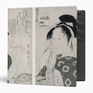 An impertinent woman,series Kyokun oya no 3 Ring Binder