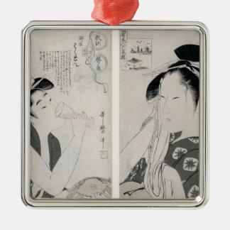 An impertinent woman,series Kyokun oya no Metal Ornament