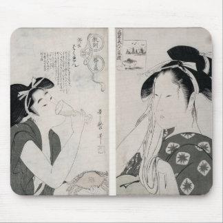 An impertinent woman,series Kyokun oya no Mouse Pad