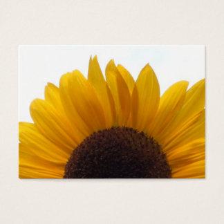 An Impressive Sunflower Business Card