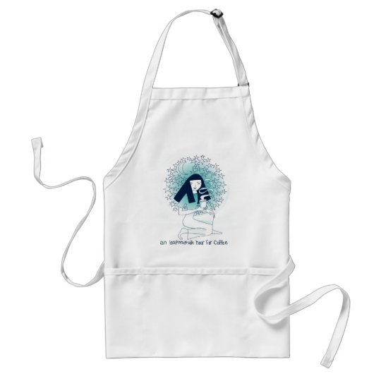 An inappropriate hour for coffee adult apron