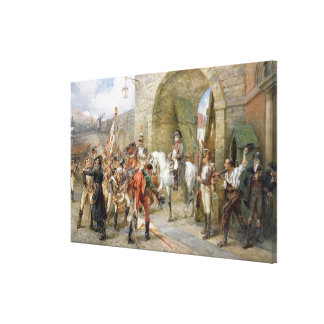 An Incident in the Peninsular War - Napoleon Enter Gallery Wrap Canvas