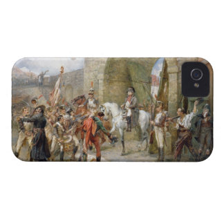 An Incident in the Peninsular War - Napoleon Enter iPhone 4 Case