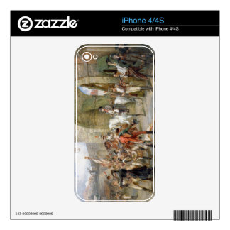 An Incident in the Peninsular War - Napoleon Enter iPhone 4 Decal