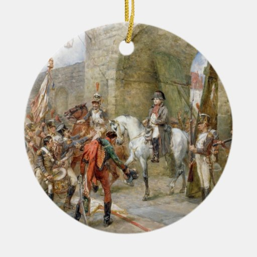 An Incident in the Peninsular War - Napoleon Enter Christmas Tree Ornaments