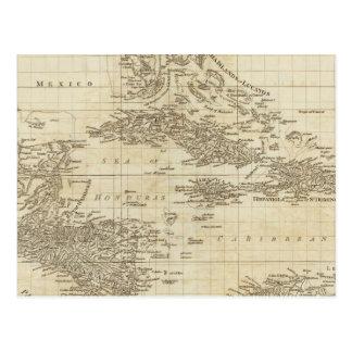 An index map postcard