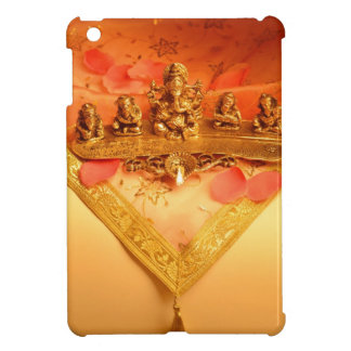 An Indian lamp with Ganesha Idol Case For The iPad Mini