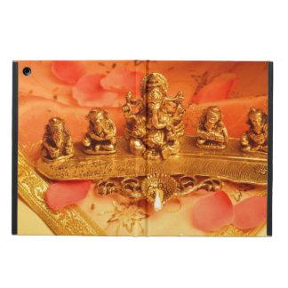 An Indian lamp with Ganesha Idol iPad Air Cover