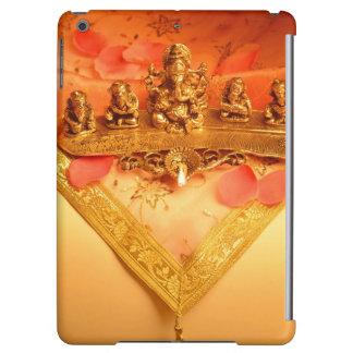 An Indian lamp with Ganesha Idol iPad Air Cases