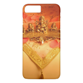 An Indian lamp with Ganesha Idol iPhone 7 Plus Case