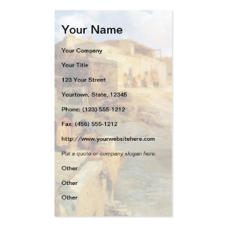 An Indian Pueblo Laguna New Mexico - 1906 Double-Sided Standard Business Cards (Pack Of 100)