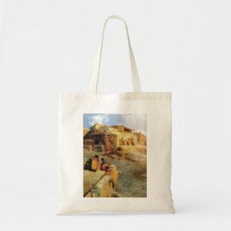 An Indian Pueblo Laguna New Mexico - 1906 Tote Bag