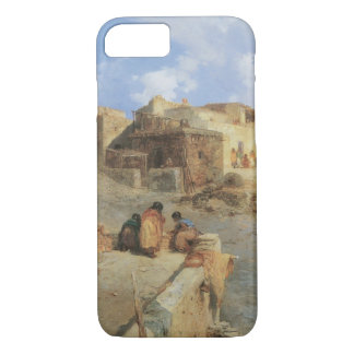 An Indian Pueblo, Laguna, New Mexico by Moran iPhone 7 Case