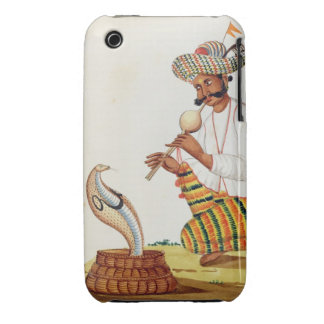 An Indian Snake Charmer with a Cobra, from a Frenc iPhone 3 Cases