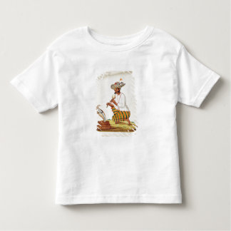 An Indian Snake Charmer with a Cobra, from a Frenc Toddler T-shirt