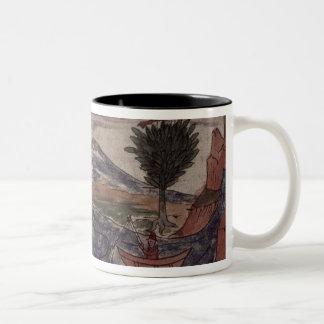 An Indian spy observes Two-Tone Coffee Mug
