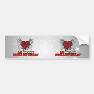 An Indian Stole my Heart Car Bumper Sticker
