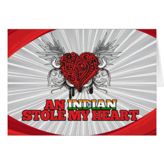 An Indian Stole my Heart Stationery Note Card