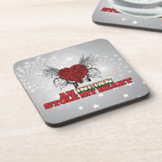 An Indian Stole my Heart Beverage Coaster