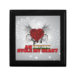 An Indian Stole my Heart Keepsake Boxes