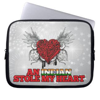 An Indian Stole my Heart Laptop Computer Sleeve