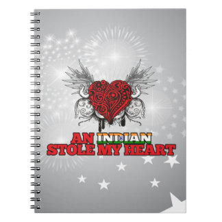 An Indian Stole my Heart Note Book