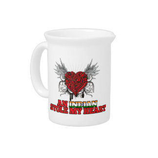 An Indian Stole my Heart Drink Pitchers