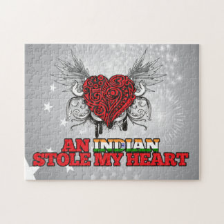 An Indian Stole my Heart Puzzle