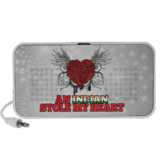 An Indian Stole my Heart Portable Speakers