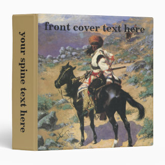An Indian Trapper by Remington Vintage Wild West Binders