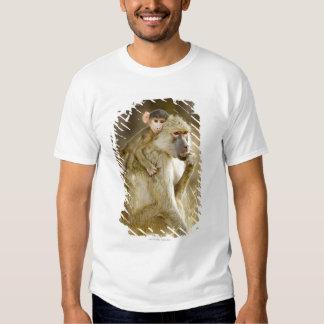 An infant Yellow Baboon(Papio T Shirt