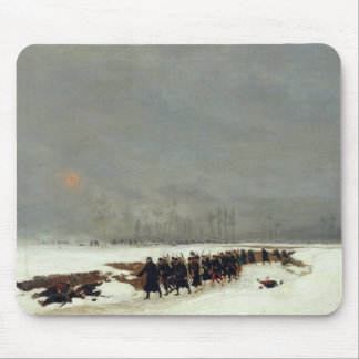 An Infantry Column on their Way to a Raid Mouse Pad