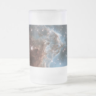 An Infrared Look at a Nearby Star Factory Frosted Glass Beer Mug
