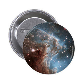 An Infrared Look at a Nearby Star Factory Pinback Button