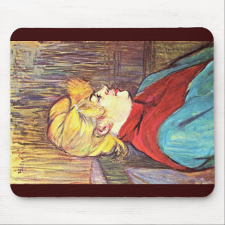 An Inhabitant Of A Brothel,  By Toulouse-Lautrec Mouse Pad