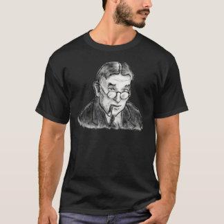 An Ink Sketched Wretch: H.L. Mencken T-Shirt