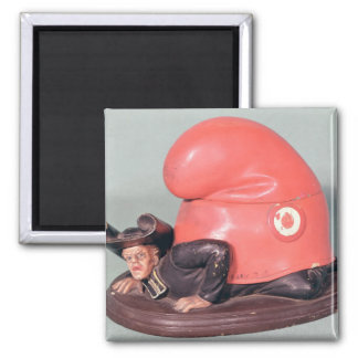 An inkwell or tobacco pot 2 inch square magnet