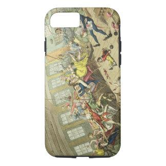 An Interesting Scene on board an East-Indiaman, sh iPhone 8/7 Case