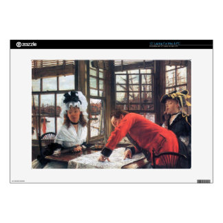 "An interesting story by James Tissot 15"" Laptop Skin"